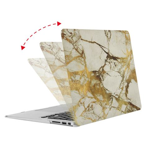 Hardcase Macbook Pro 13 Inch Pattern Motif Canada No Cut Logo mosiso marble pattern plastic cover for macbook