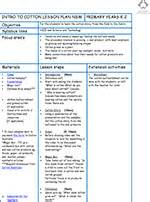 lesson plan template australia water education foundation apps directories