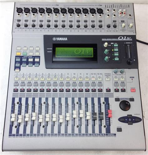 Mixer Audio Target Audio Professional 4 Ch6 user reviews yamaha 01v audiofanzine