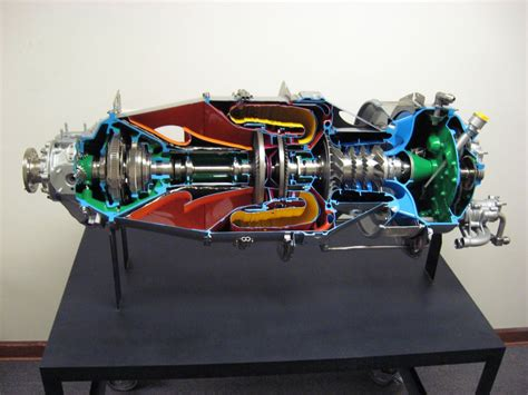 pratt whitney pt6 engine cutaway of a mainstay available pratt whitney pt6 engine cutaway of a mainstay available