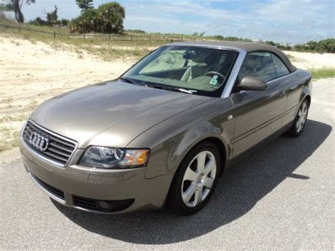 2006 audi a4 cabriolet for sale buy used 2006 audi a4 cabriolet 1 8l 4cyl turbo in palm