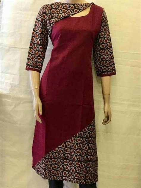 new neck pattern of kurti different types of kurtis designs simple craft ideas