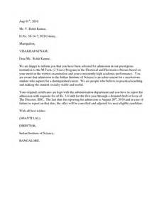 Best Photos of School Acceptance Letter   College
