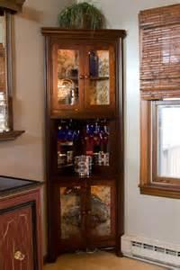 corner liquor cabinet furniture designs