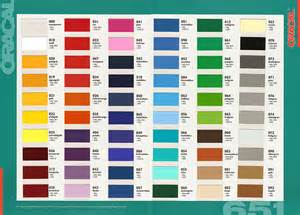 oracal 651 color chart oracal translucent vinyl color chart images