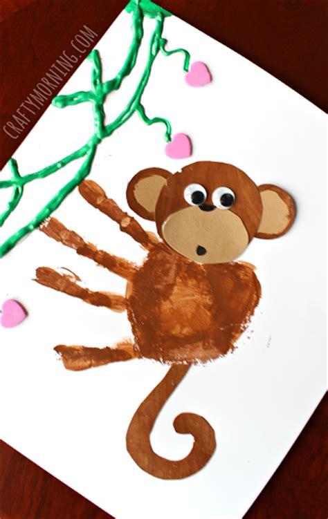 new year craft ideas monkey 40 and creative handprint crafts
