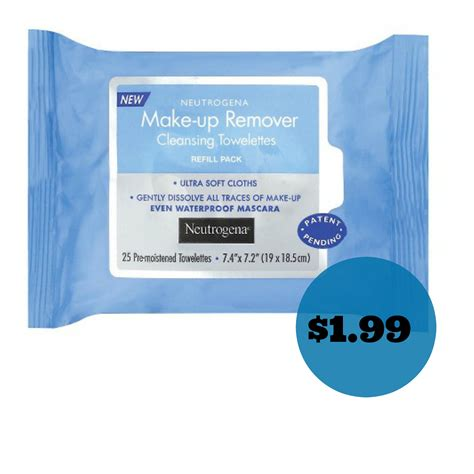 Promo The One All Make Up Remover neutrogena makeup remover wipes just 1 99 at target