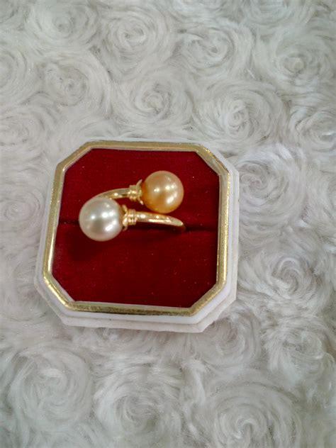Set Emas Mutiara Air Laut 46 cincin emas mutiara laut lombok ceml 08 jual mutiara