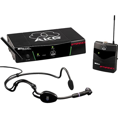 Murah Mic Wireless Akg Wms 45 Sport Headset akg wms 40 pro headset sports wireless system music123