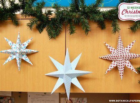 como hacer estrellas de navidad c 243 mo hacer estrellas de navidad fiestas infantiles