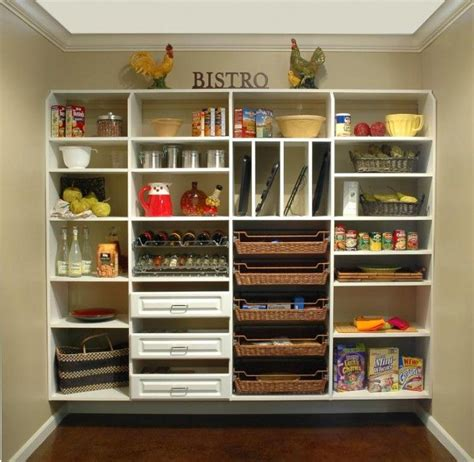 Pantry Shelf Systems by Pantry Organization For The Home