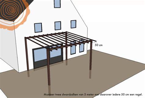 golfplaten monteren karwei zelf houten veranda maken veranda van hout bouwen