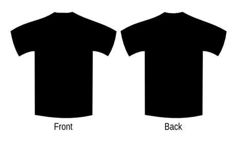 Poloshirt Lengan Panjang Black black clip at clker vector clip