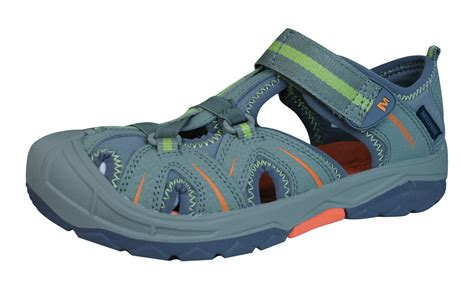 merrell water sandals merrell hydro hiker sandal boys water shoes olive at