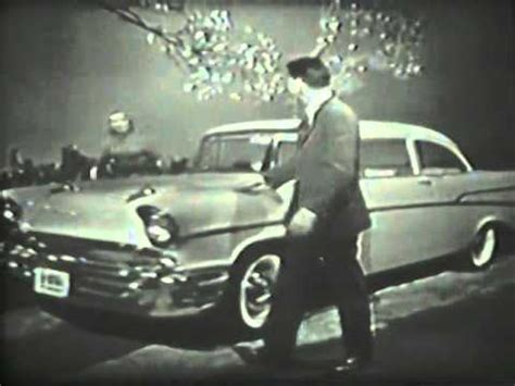 1956 chevrolet commercial for 1957 chevy cars very