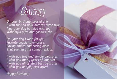 imagenes de happy birthday amy birthday poems for amy