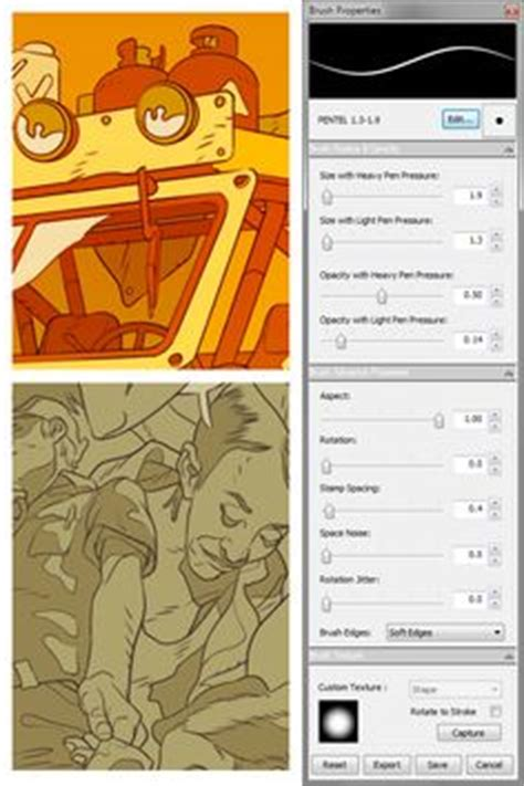 tutorial sketchbook pro indonesia caw art sketchbook pro brush settings drawing and art