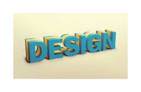 design photo and text denis designs 187 3d text design