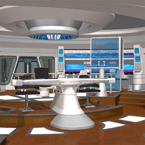 Sofa Hull by Starship Bridge Xi For Poser 3d Model Rigged Pz3 Pp2