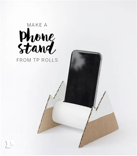 How To Make A Paper Phone Stand - make a phone stand from tp rolls pysselbolaget