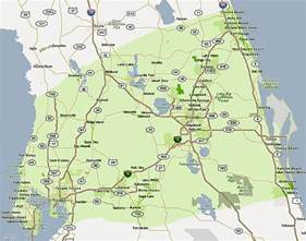 map of central florida deboomfotografie