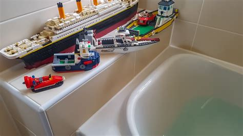 how to build a lego boat video do lego boats float youtube
