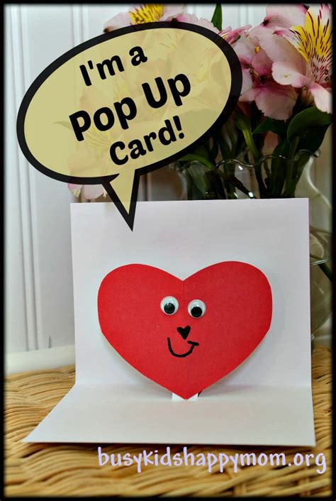 to make a pop up card handmade pop up cards