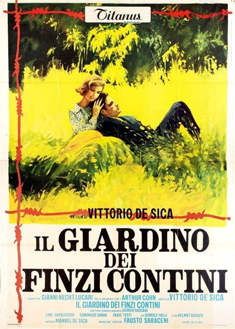 i giardini dei finzi contini il giardino dei finzi contini cinema italiano