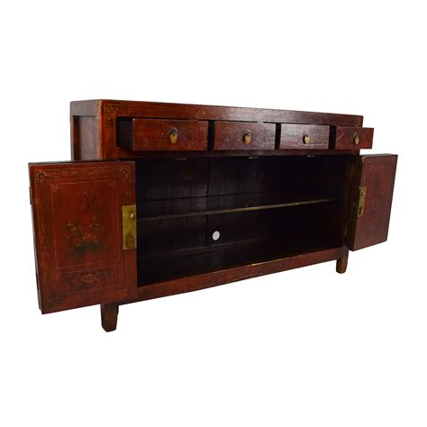 wood credenza 66 solid wood southeast asian credenza storage
