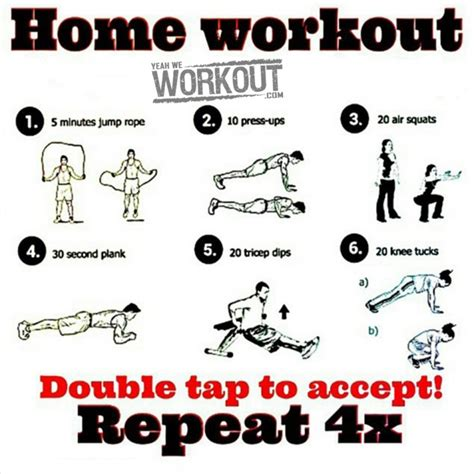 home workout plan healthy fitness routine arms