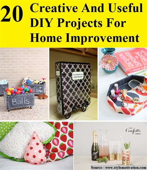 diy projects for home improvements 20 creative and useful diy projects for home improvement home and life tips