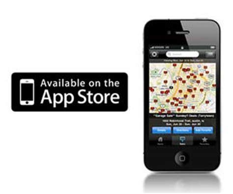 Garage Sales App Garage Sales Tracker