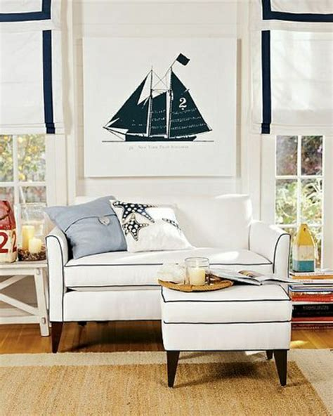 nautical family room la d 233 coration marine en 50 photos inspirantes