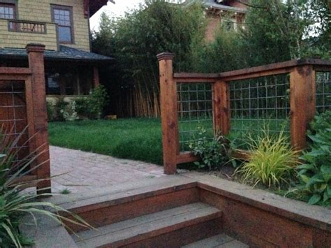 front yard privacy fence fence ideas