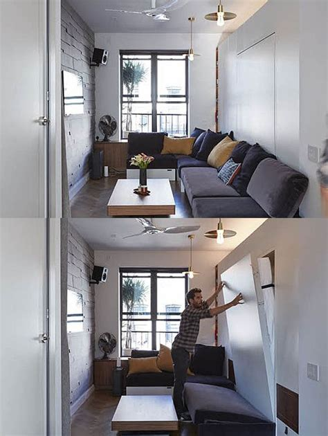 350 square feet 350 square foot micro apartment with multi functional