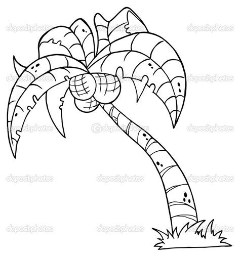 printable palm tree palm tree coloring pages  kids