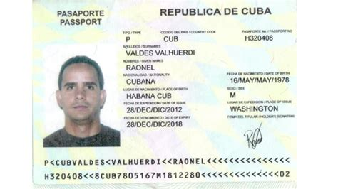 Us Passport Criminal Record In To Believe Yarn Fugitive Cuban Migrant With