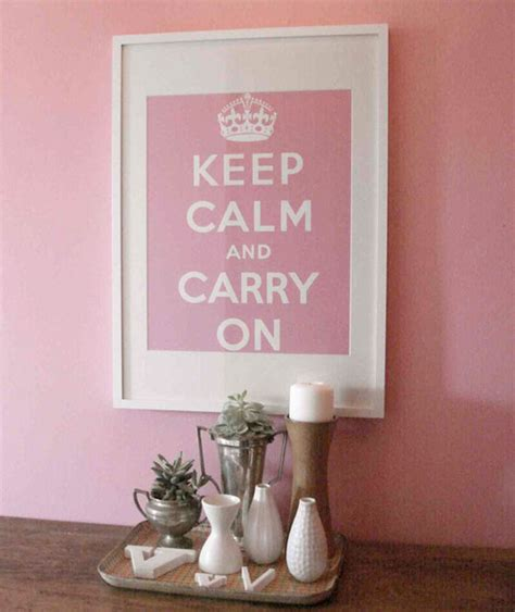 keep calm and carry on decor for your home huntto
