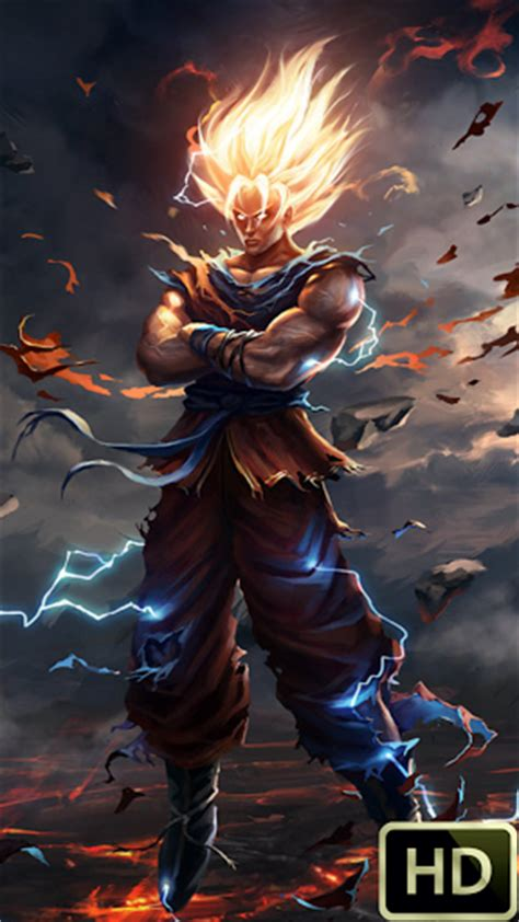 wallpapers anime para android hd dbz real wallpapers android market