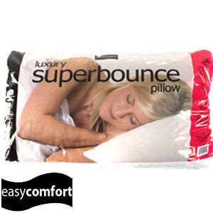 easy comfort pillows buy easy comfort luxury superbounce pillow at home bargains