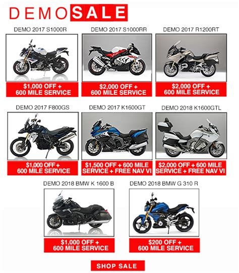 Bmw Motorrad Usa Promotions by Specials And Promotions 2018 Bob S Bmw Motorcycles