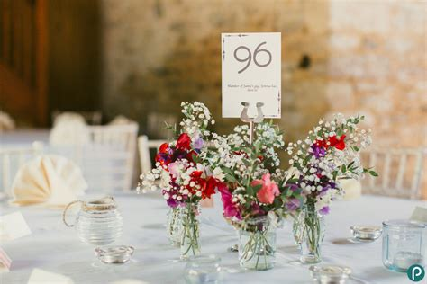 Handmade Table Decorations For Weddings - kingston country courtyard wedding dorset wedding