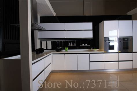 high gloss white lacquer kitchen cabinet white wood