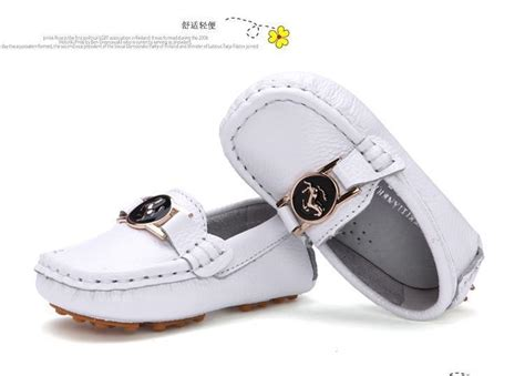 infant white boat shoes summer first walkers baby boy girl boat shoes leather