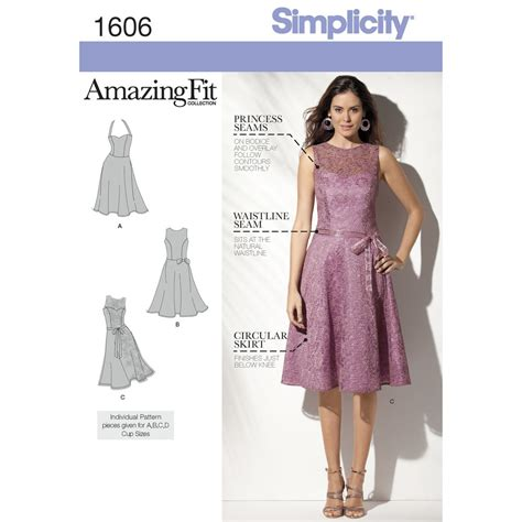 Home Decorating Catalogs Free by Pattern For Misses Amp Miss Petite Amazing Fit Dress