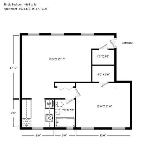 window in plan unique one bedroom floor plans images home