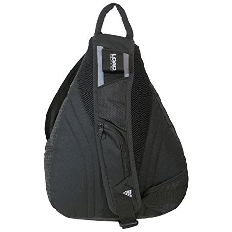 Backpack Adidas Apparel adidas capital sling backpack black grey one size buy