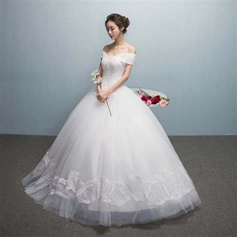 Dress Florensia 2017 new and summer korean characters wedding dress