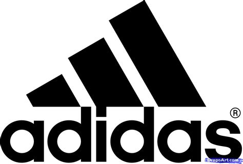 Logo Drawer by How To Draw The Adidas Logo Step By Step Symbols Pop