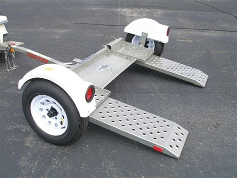 flatbed  dolly towing